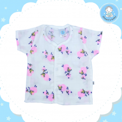Shawn's Baby Short Shirt Sheep Cartoon (Pink)
