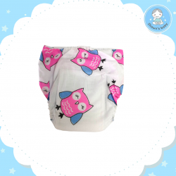 Shawn's Baby Jump Leg Diaper Pants 6 pcs/pack (Mix Color)