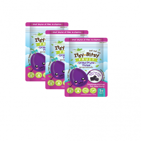 Sweet Pea Itsy-Bitsy Fruit, Dried Prune Puree  pack 3 bags  (27 g/bag)