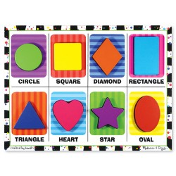 Toybies Shapes Chunky Puzzle