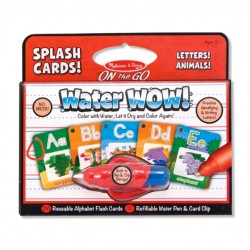Toybies Water WOW Splash Cards! – Letters, Animals