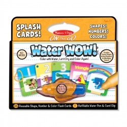 Toybies Water WOW Splash Cards! – Shapes, Numbers, Colors