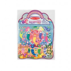 Toybies Puffy Reusable Sticker Set Mermaid (ห่วง)