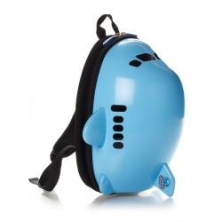 Toybies Ridaz Blue Airplane backpack